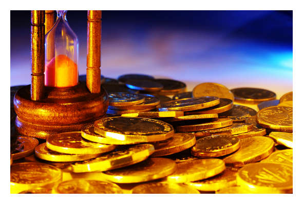gold-coins-and-hour-glass