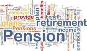 Pension words