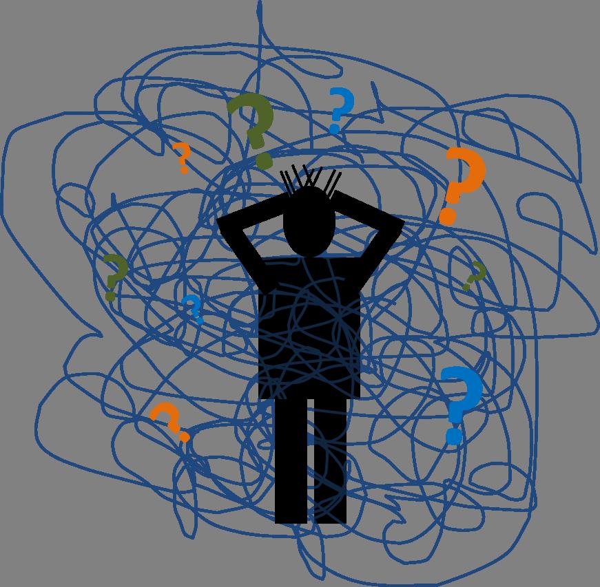 Complex question mark