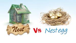 Nest vs nest egg